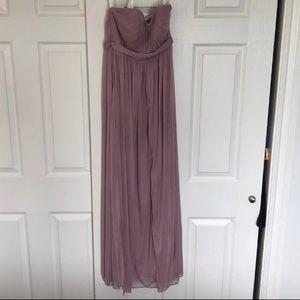 Azazie mauve/pink bridesmaid dress